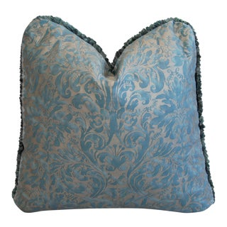 Designer Italian Mariano Fortuny Lucrezia Feather/Down Pillow