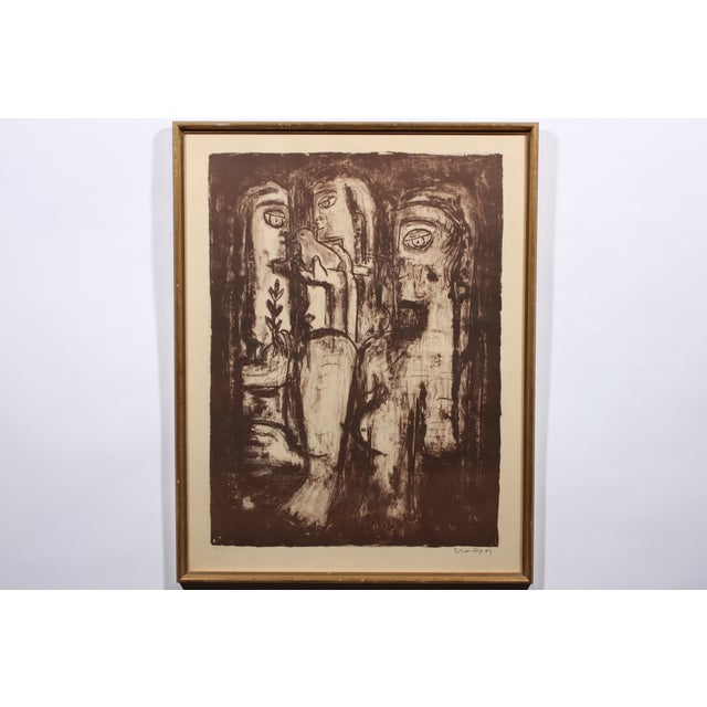 Image of Three Sisters Etching