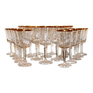 Lenox Wine Glasses - Set of 20