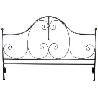 Charleston Forge Iron King Size Headboard