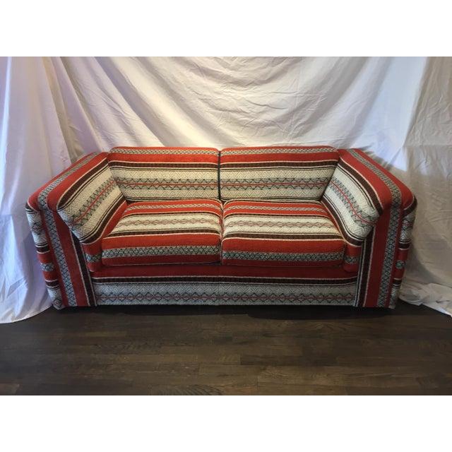 60s Vintage Southwestern Sofa - Image 2 of 5