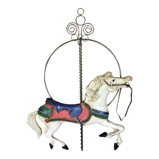 Curtis Jere Carousel Horse Wall Hanging