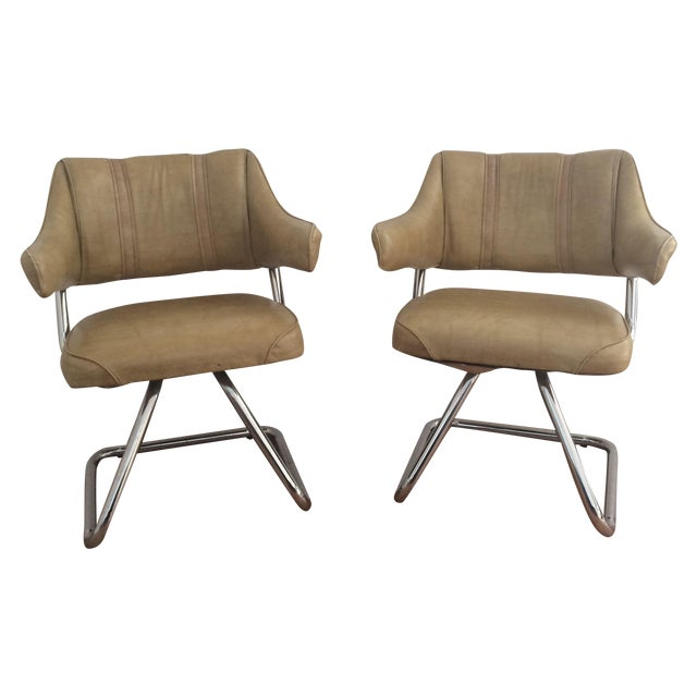 Image of Atomic Era Howell Chairs - A Pair