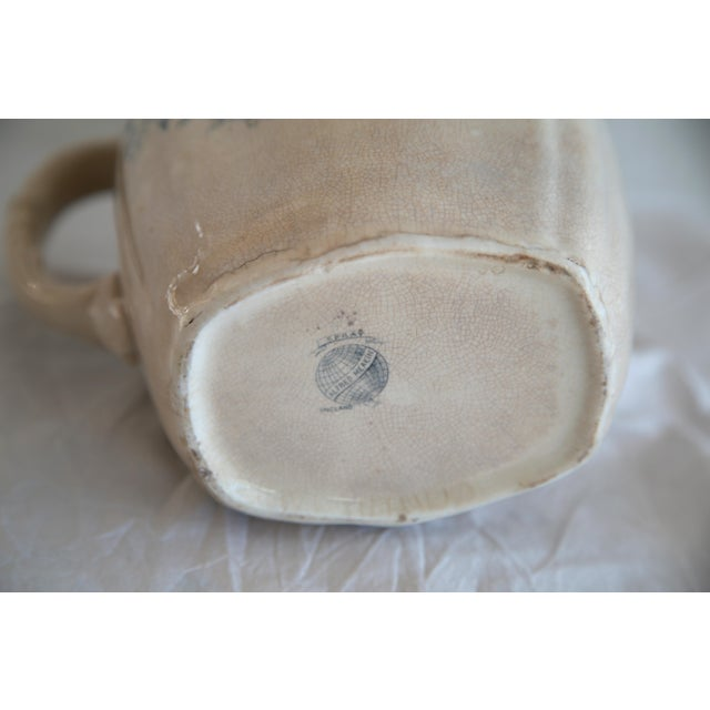 Antique English Transferware Pitcher - Image 5 of 8