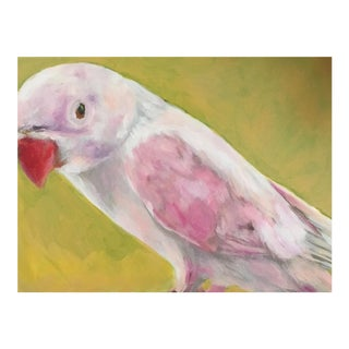 "Neicy Frey ""Blush Budgie"" Original Painting"