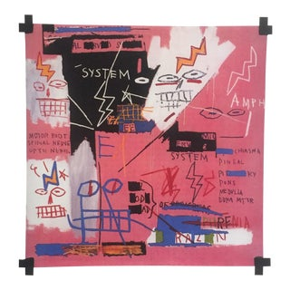 "1982 Jean Michel Basquiat Original Pop Art "" Six Fifty "" Lithograph Fine Art Print"