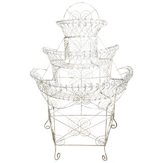 French Wire Garden Plant Stand