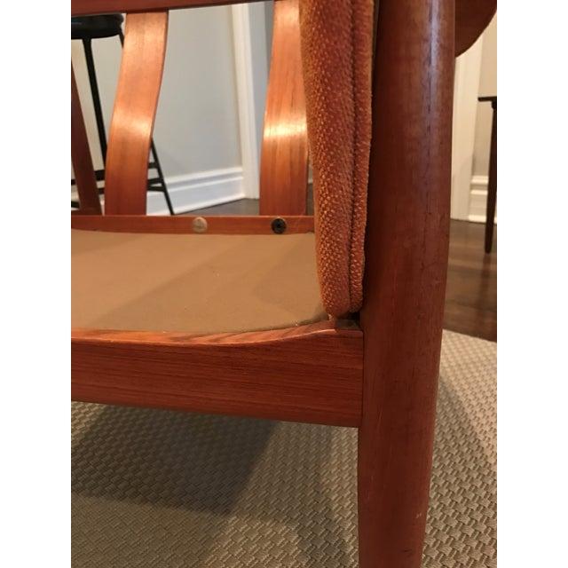 Grete Jalk Teak Sofa & Lounge Chair - A Pair - Image 8 of 9