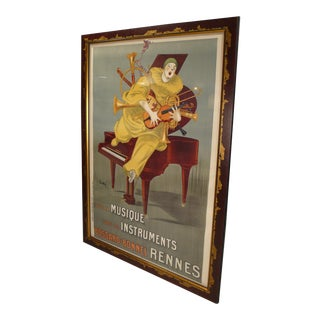 Betto Lotti Clown Poster c. 1925