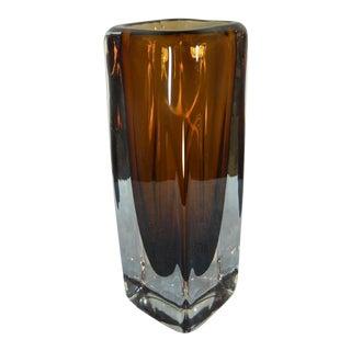 1970s Kosta Boda Glass Vase