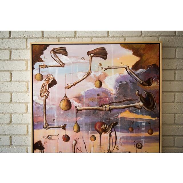 "Scott Henderson ""Tabula Tertia"" Painting - Image 3 of 4"