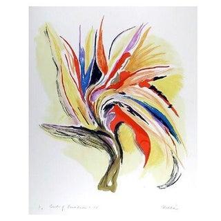 Vick Vibha Bird of Paradise II Lithograph
