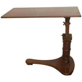 Mahogany Library Stand Writing Table