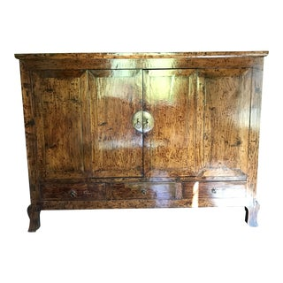 Large Antique Chinese Hardwood Cabinet