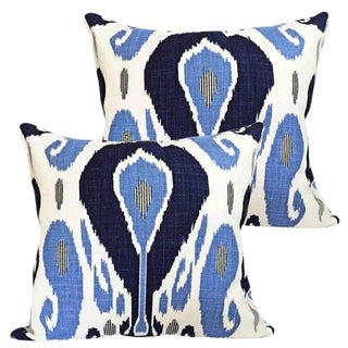 Bodrum Ikat Accent Pillows - A Pair