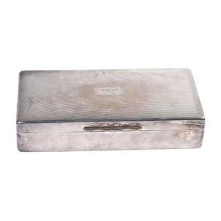 Silver Cigarette Box I