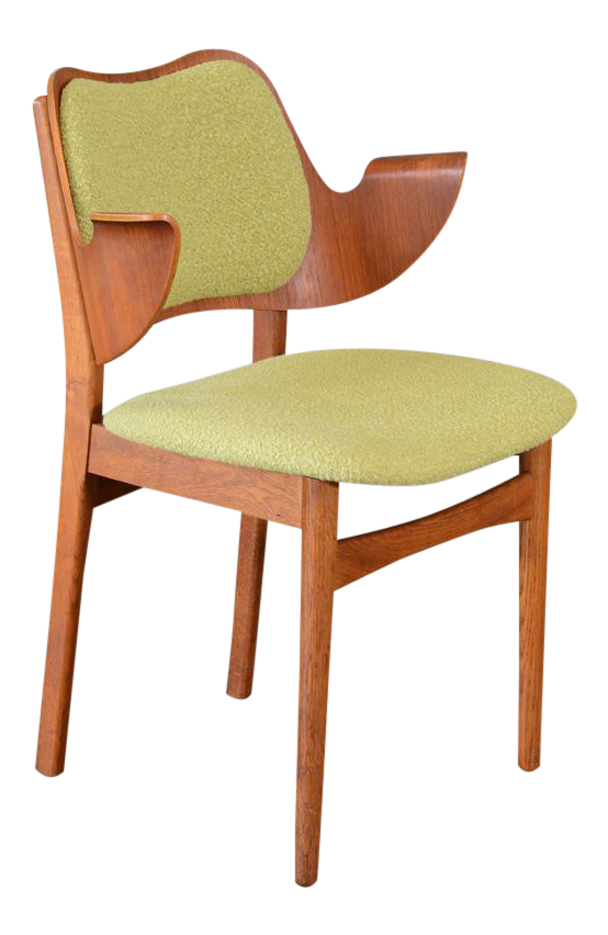 Awesome Hans Olsen Bent Teak U0026 Oak Arm Chair