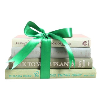 Vintage Book Gift Set: Green Gardening Mix - Set of 4