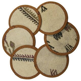 Kilim Coasters Set of 6 - Poyrazlar