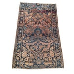 Image of Keshan Persian Rug Fragment - 2′8″ × 4′5″