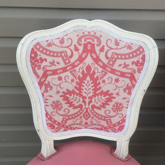 Vintage French Style Side Chairs - Set of 4 - Image 2 of 11