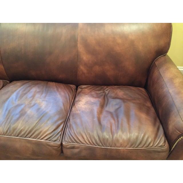 Hancock & Moore Leather Sofa - Image 4 of 6