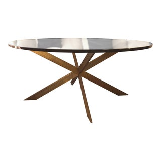 Mid-Century Leon Rosen for Pace Double-X Base Cocktail Table