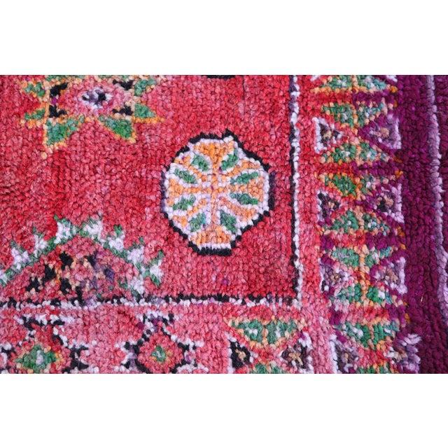 Vintage Moroccan Boujaad Rug 9'4 x 6'3 - Image 6 of 6