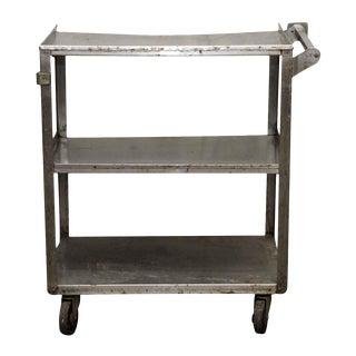 Steel Three Tier Industrial Cart