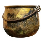 Image of Large Brass Handled Pot