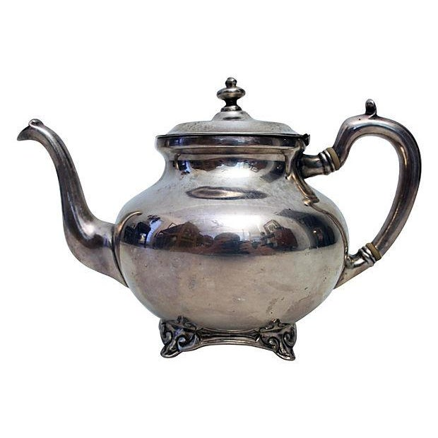 Sterling Silver Teapot - Image 1 of 6