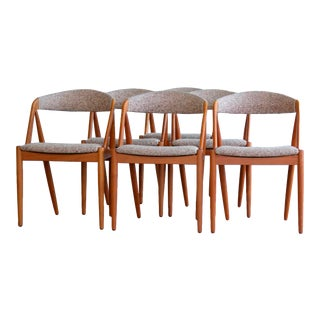 Kai Kristiansen for Schou Andersen Teak Dining Chairs - Set of 6