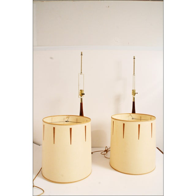 Image of Mid-Century Danish Modern Lamps - A Pair