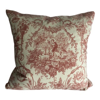 French Country Toile De Juoy Pillow