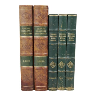 Leather-Bound Books S/5