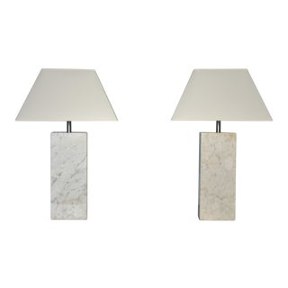Nessen Marble Lamps - A Pair