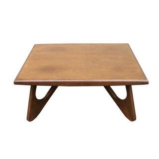 Kroehler Walnut Coffee Table