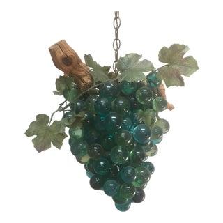 Resin & Driftwood Grape Cluster Chandelier