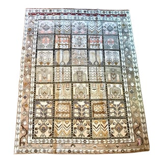 "Antique Persian Rug - 5'3"" x 6'11"""