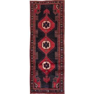 "Apadana - Vintage Persian Hamadan Rug, 3'5"" x 9'6"""