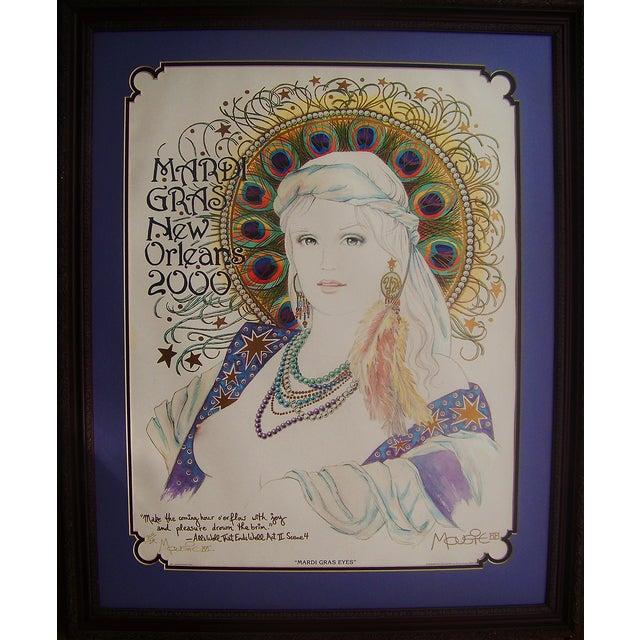 Mousie 'Mardi Gras Eyes' Poster - Image 2 of 6