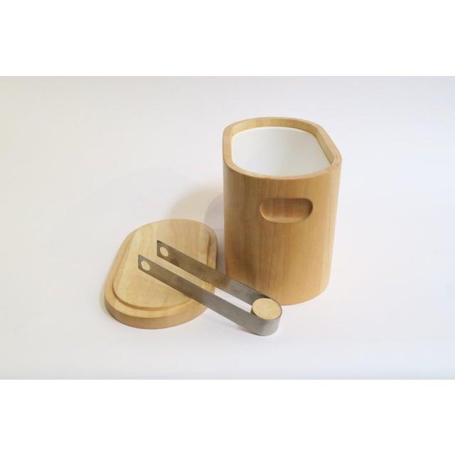 Modern Wooden Ice Bucket - Image 4 of 5