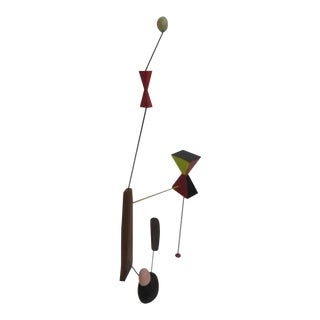 Adam Henderson Sculpture Constellation of Wire Wood and Paint