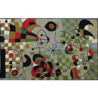 Cubist Needlepoint Rug