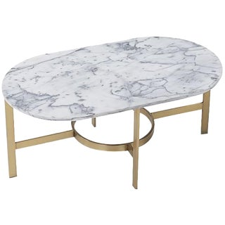 West Elm Marble Coffee Table