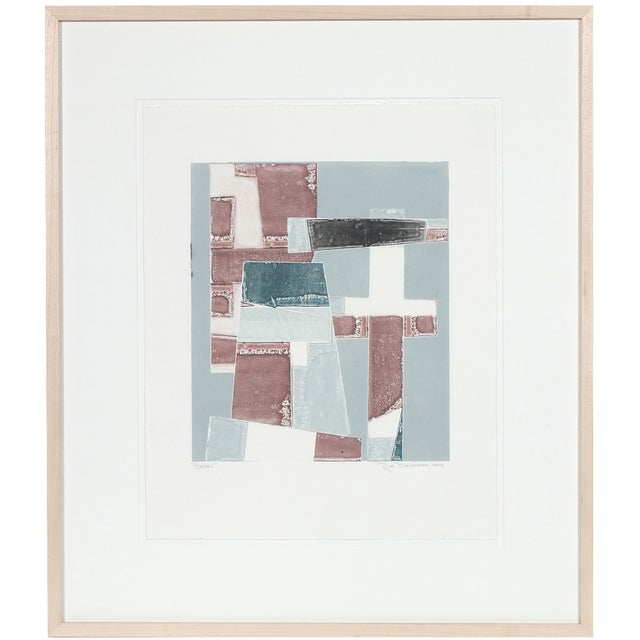 "Image of ""Avenue L"" Abstracted Monotype"