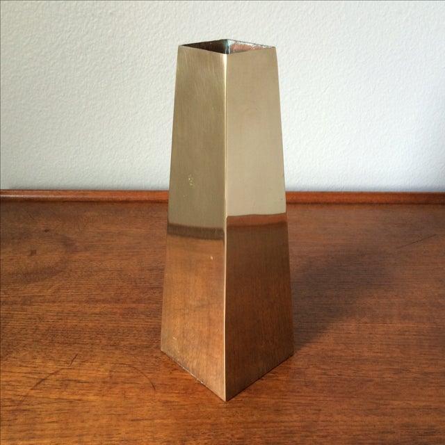 Vintage Brass Vase - Image 2 of 10