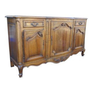 Antique 19th Century French Louis XV Buffet Sideboard