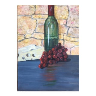 """Bring Out the Wine"" Painting"