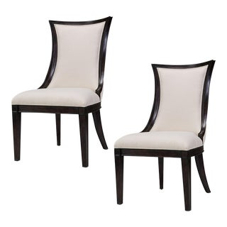 Sarreid Ltd. Parisian Dining Side Chairs - A Pair